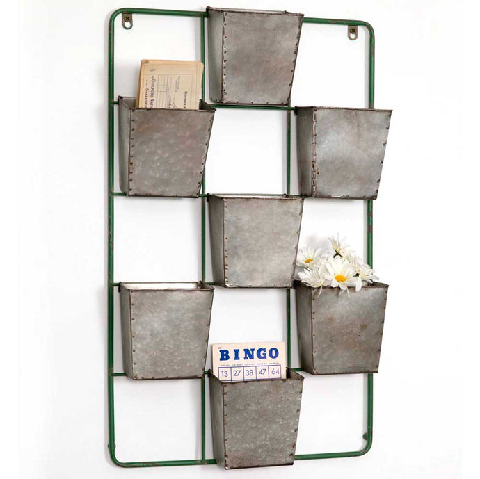 Seven Pocket Wall Display