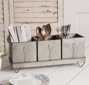 Three-Bin Utensil Caddy