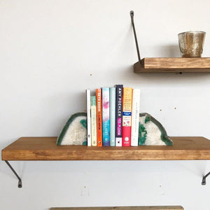 Hand Forged Reversible Bracket Shelf