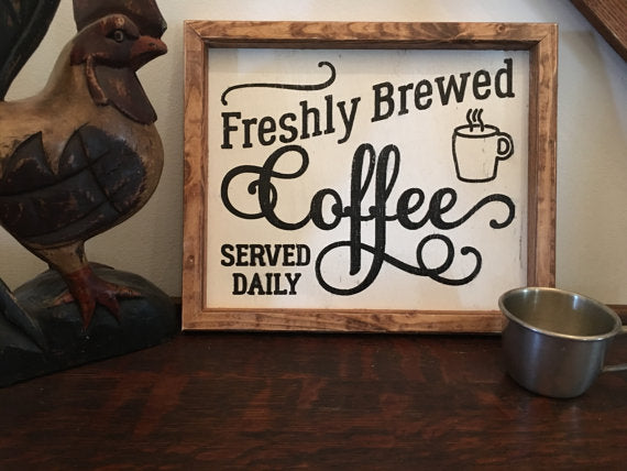 Coffee Bar Coffee I Bar Sign Coffee Sign Coffee Decor Kitchen Signs Wood Sign Farmhouse Decor Farmhouse Wall Decor