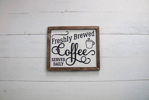 Coffee Bar - Coffee I Bar Sign - Coffee Sign - Coffee Decor - Kitchen Signs - Wood Sign - Farmhouse Decor - Farmhouse Wall Decor -
