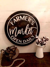 Farmers Market Sign, Market Sign, Farmhouse Sign, Farmhouse Style, Farmhouse Decor, Wood Sign, Farmhouse Wood Sign