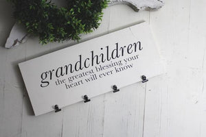 Grandchildren Sign | Grandkids Sign | Grandparents Sign | Grandkids | Wood Sign | Grandparent Sign | Wooden Sign | Farmhouse Sign