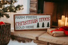Christmas Tree Sign, Christmas Sign, Christmas Decoration, Rustic Christmas Sign, Christmas Decor, Christmas Tree Farm,