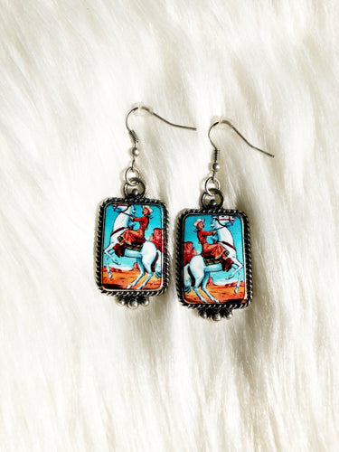 Cowgirl Earrings