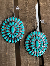 Patina Turquoise Earrings