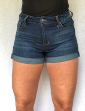 Hazel Cuffed Denim Shorts