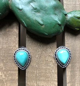 DeKalb Turquoise Stud Earrings