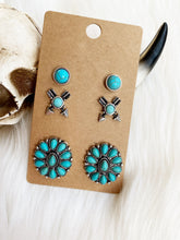 Crazy Horse Earring Trio