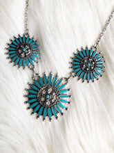 Bluebird Concho Necklace