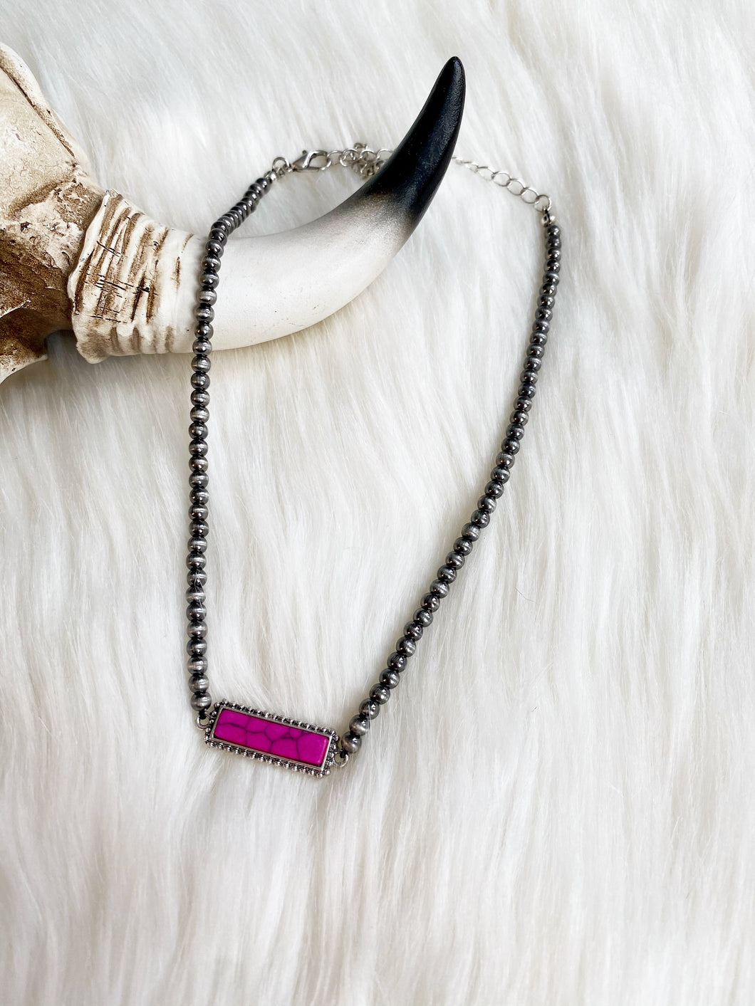 The Warsaw Pink Choker Necklace