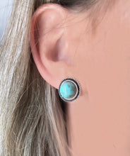 Kansas Turquoise Stud Earrings