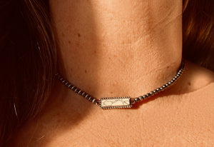 The Warsaw White Choker Necklace