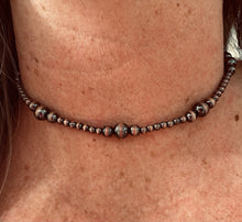 Bear Creek Navajo Pearl Copper Choker Necklace