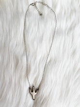 White Cactus Necklace