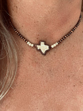 Texas White Choker Necklace