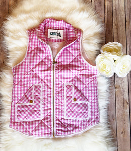 Pretty in Pink Vest