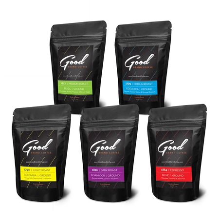 Five Roast Sampler Pack