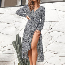 Split Loose Boho Dress