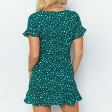 Butterfly Sleeve Mini Dress