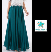Green Acres Maxi Skirt