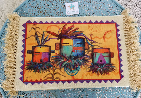 Southwestern Trio Placemat. BUY 3 GET ONE FREE