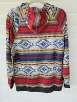 Monarch Mountain Aztec Hoodie