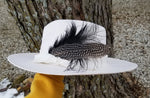 The Lonesome Dove - Ivory Wool Felt Hat