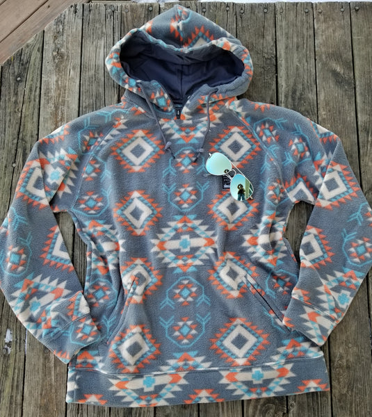 Carrizozo Hooded Fleece Pullover
