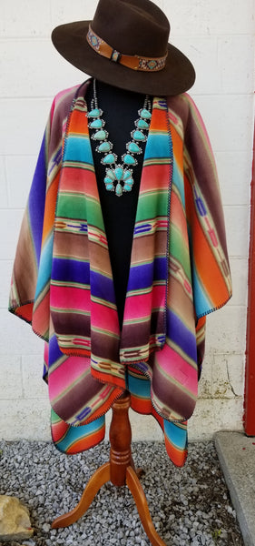 High Plains Drifter Poncho Shawl