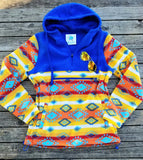 Shawnee Aztec Hooded Fleece Pullover