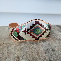 Copper Aztec Bracelet