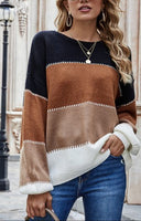 Charleston Colorblock Sweater PRE ORDER ETA 1/30/21