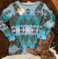 Manzano Mountain Aztec Top