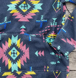 Blue Ridge Mountain Aztec Hoodie