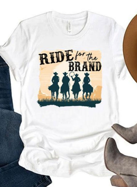 Ride For The Brand Tee PRE ORDER ETA 1/24/21