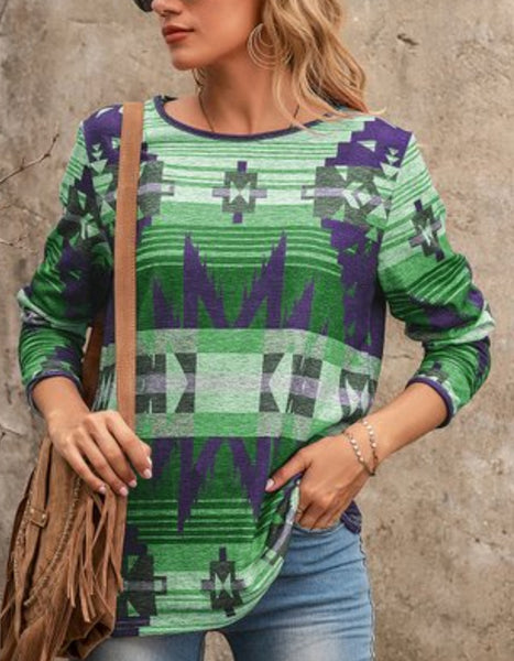 Chicoma Mountain Aztec Top