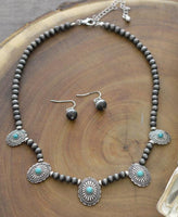Mini Concho Necklace