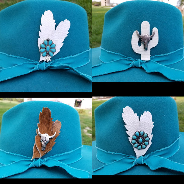 HAT CHARMS - choice of styles