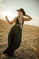 The Courtney Black Maxi Dress