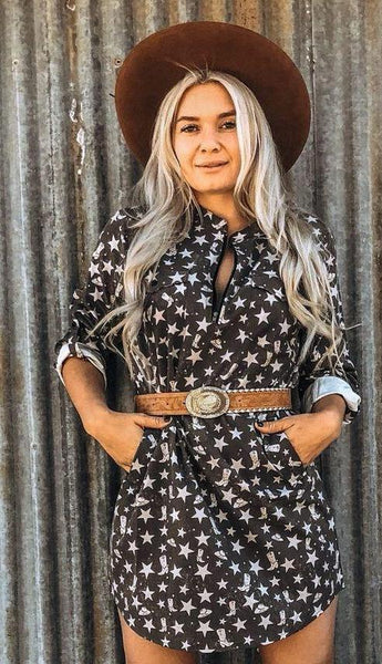 Stars and Boots Cowgirl Tunic