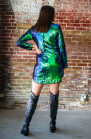 Mermaid Sequin Dress