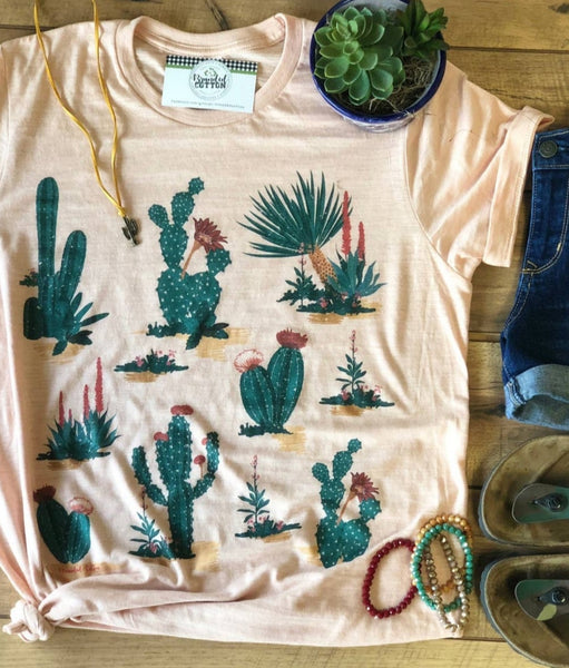 All the Cactus Tee PRE ORDER ETA 3/30/21