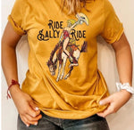 Ride Sally Ride Tee