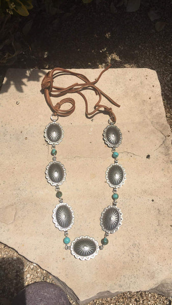 Sedona Concho Necklace