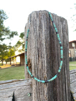 Marrakesh Turquoise choker necklace