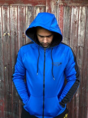 Skinny Chimp Sports Hoodie-Blue