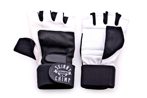 LEATHER CHIMP GLOVES
