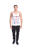 Classic Raw Cut Gym Vest - Union Jack - Limited Edition