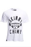 REGULAR FIT CLASSIC CHIMP T SHIRT - White